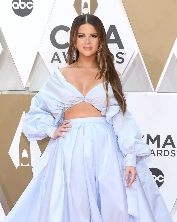 Maren Morris attends the 53nd annual CMA Awards