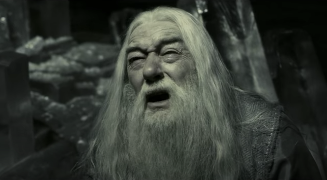 """Dumbledore in """"Harry Potter"""""""