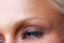 Paris hilton's eye