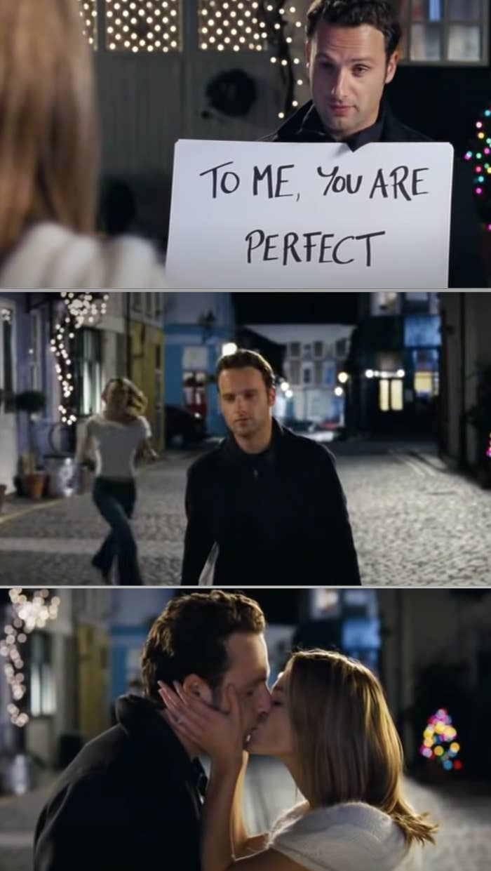 Mark from the movie Love Actually should have been killed off for betraying his friendship with Peter.