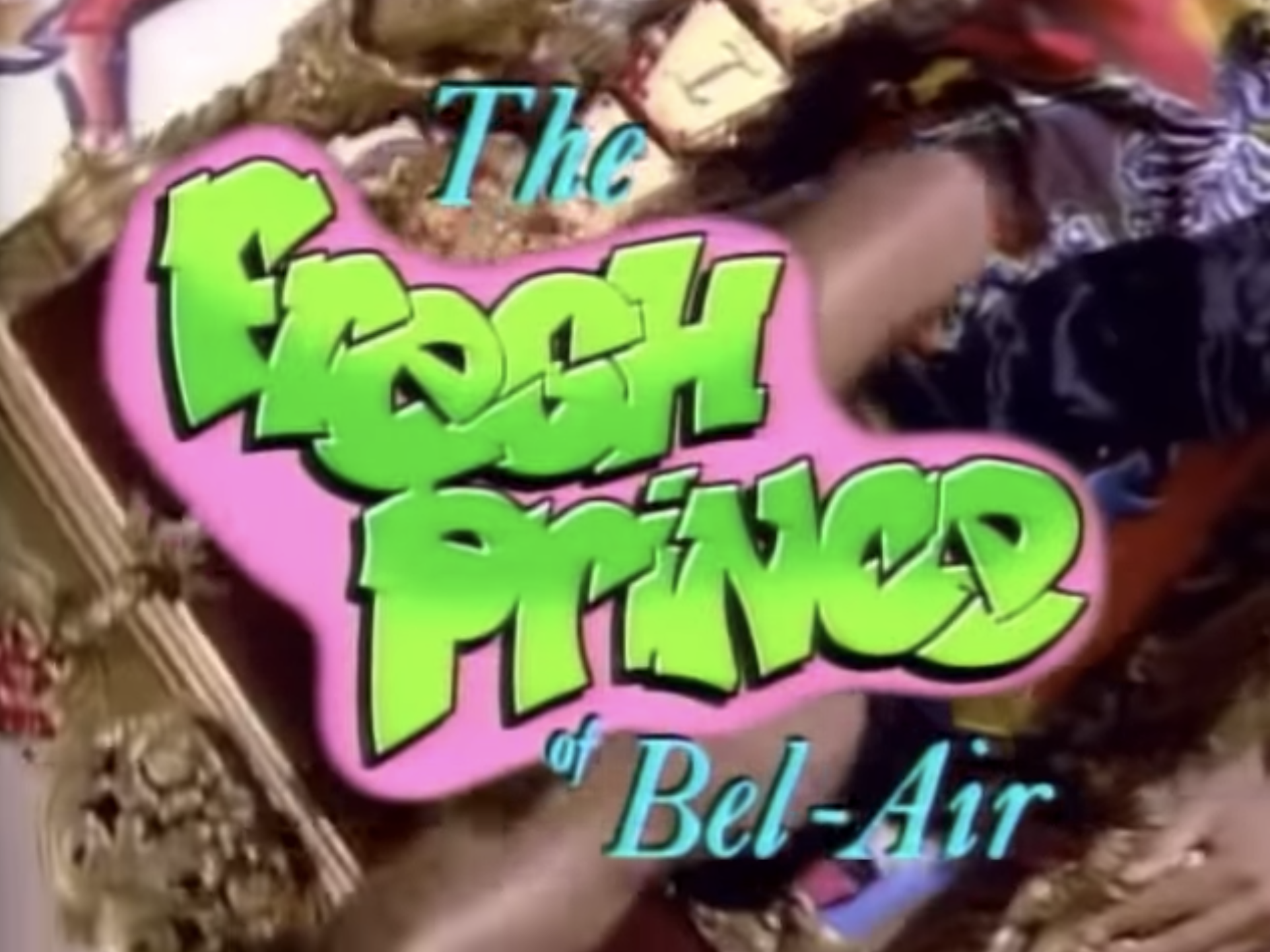 """The Fresh Prince of Bel-Air"" title card."