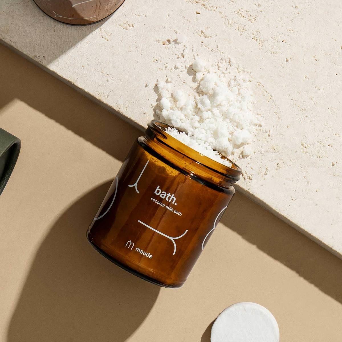 the coconut milk powder