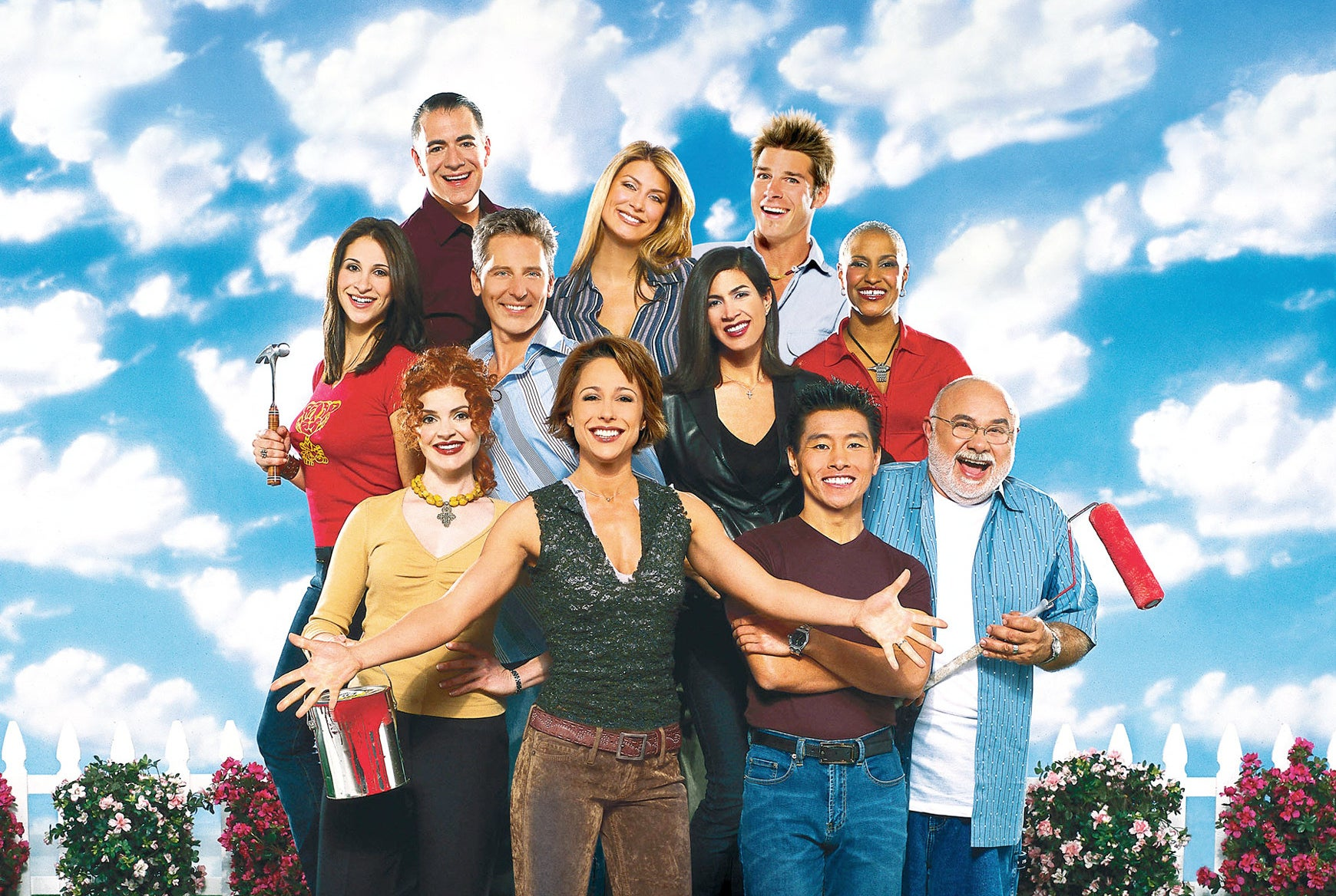 A photo of the cast of Trading Spaces