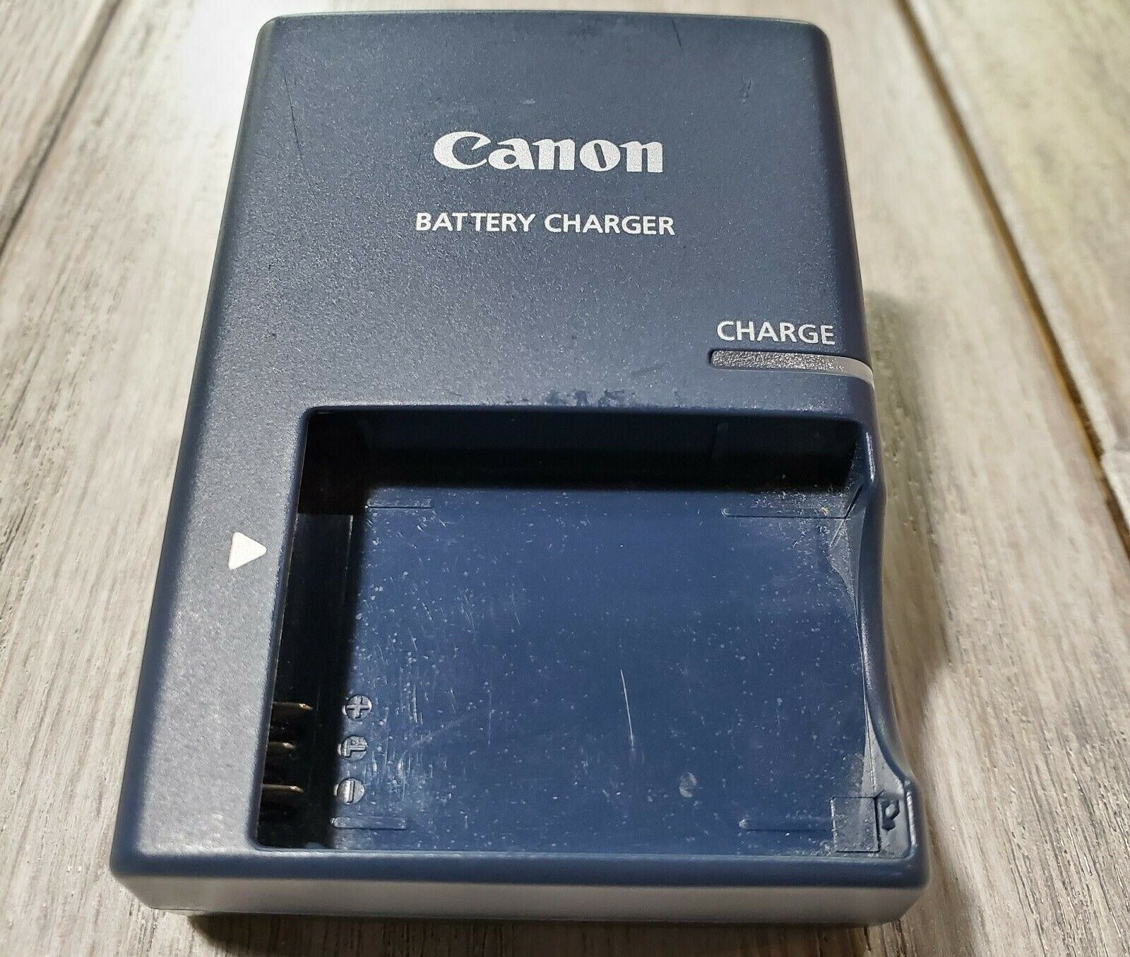 A photo of a Canon batter charger