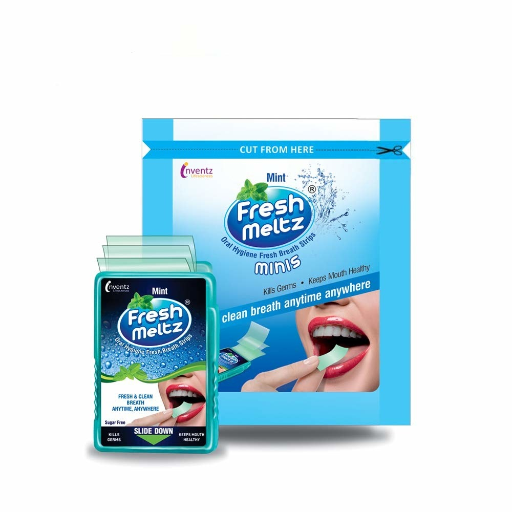 A pack of breath mints