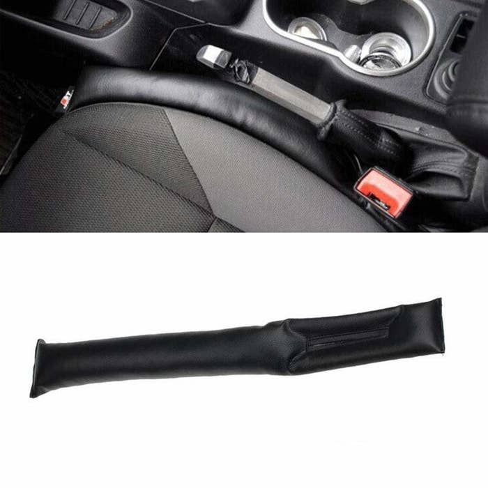 A car seat with the gap filler
