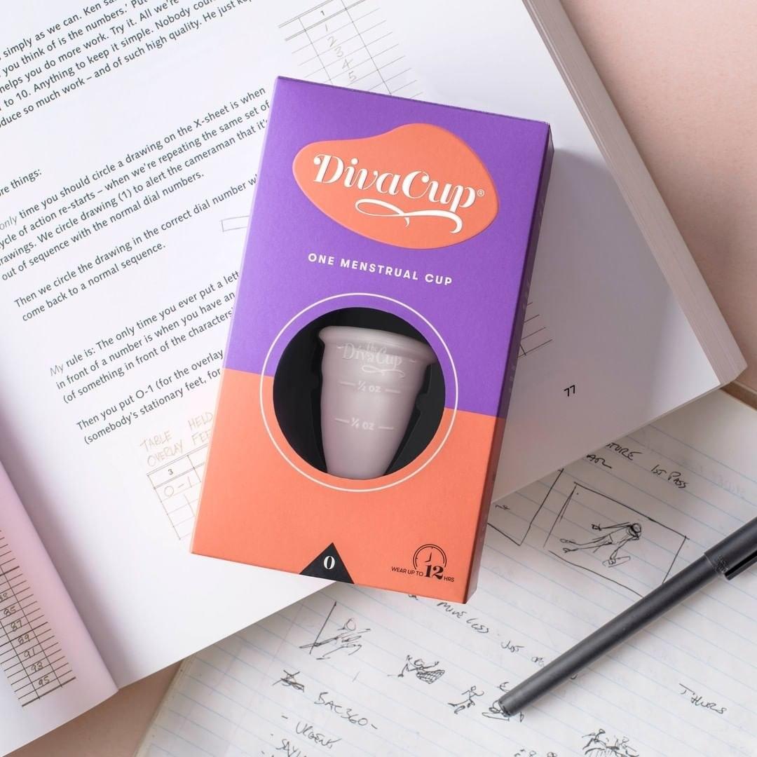 A DivaCup ontop of math homework