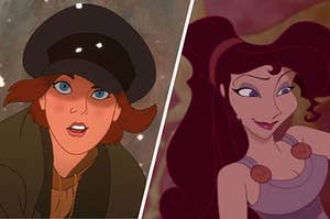Anastasia on the left and Meg on the right
