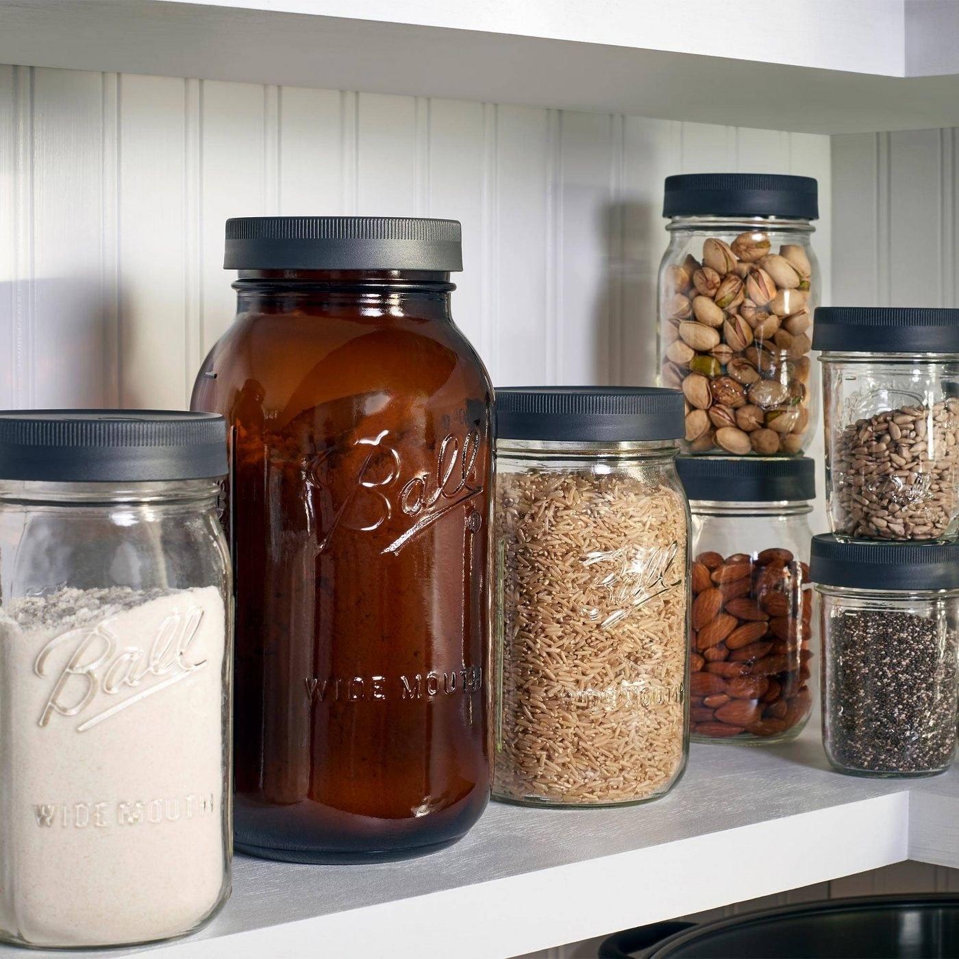 The bell jar lids