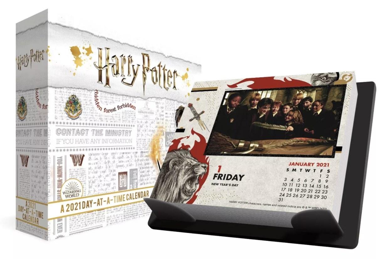 Day-at-a-Time box desk calendar