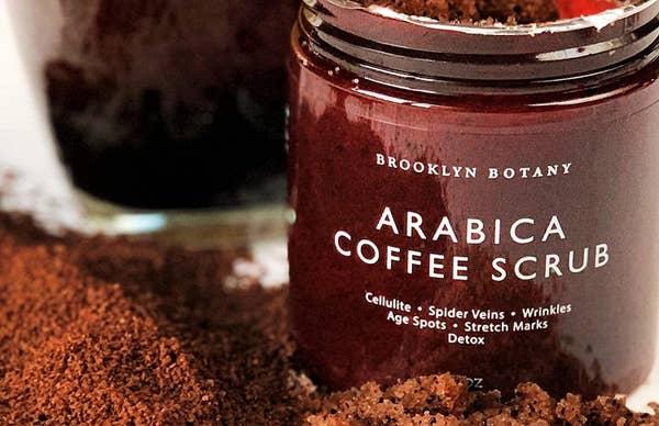 阿拉比卡咖啡磨砂膏