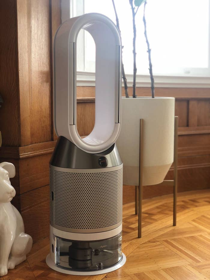 The author's photo of their Dyson Pure Humidify + Cool.