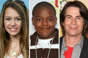 Miley Cyrus, Kyle Massey, and Jerry Trainor