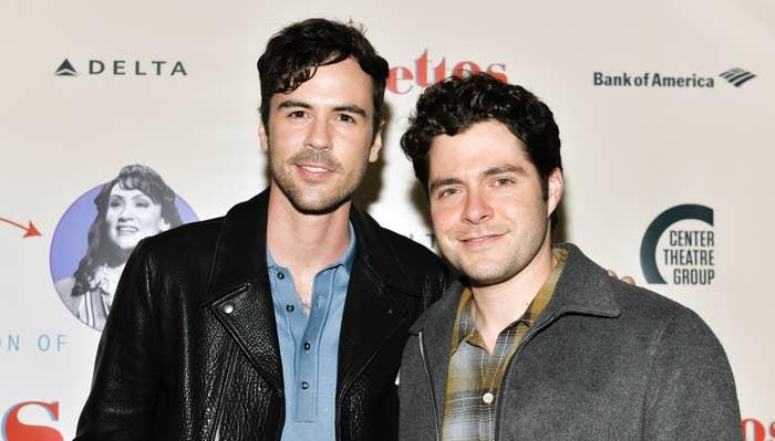 Ben Lewis and Blake Lee smiling together