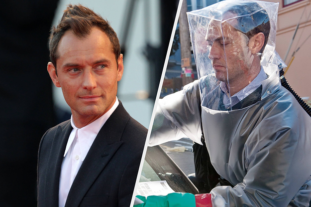 "Jude Law Thinks It's ""Odd"" Everyone Started Watching ""Contagion"" In The Middle Of A Pandemic thumbnail"