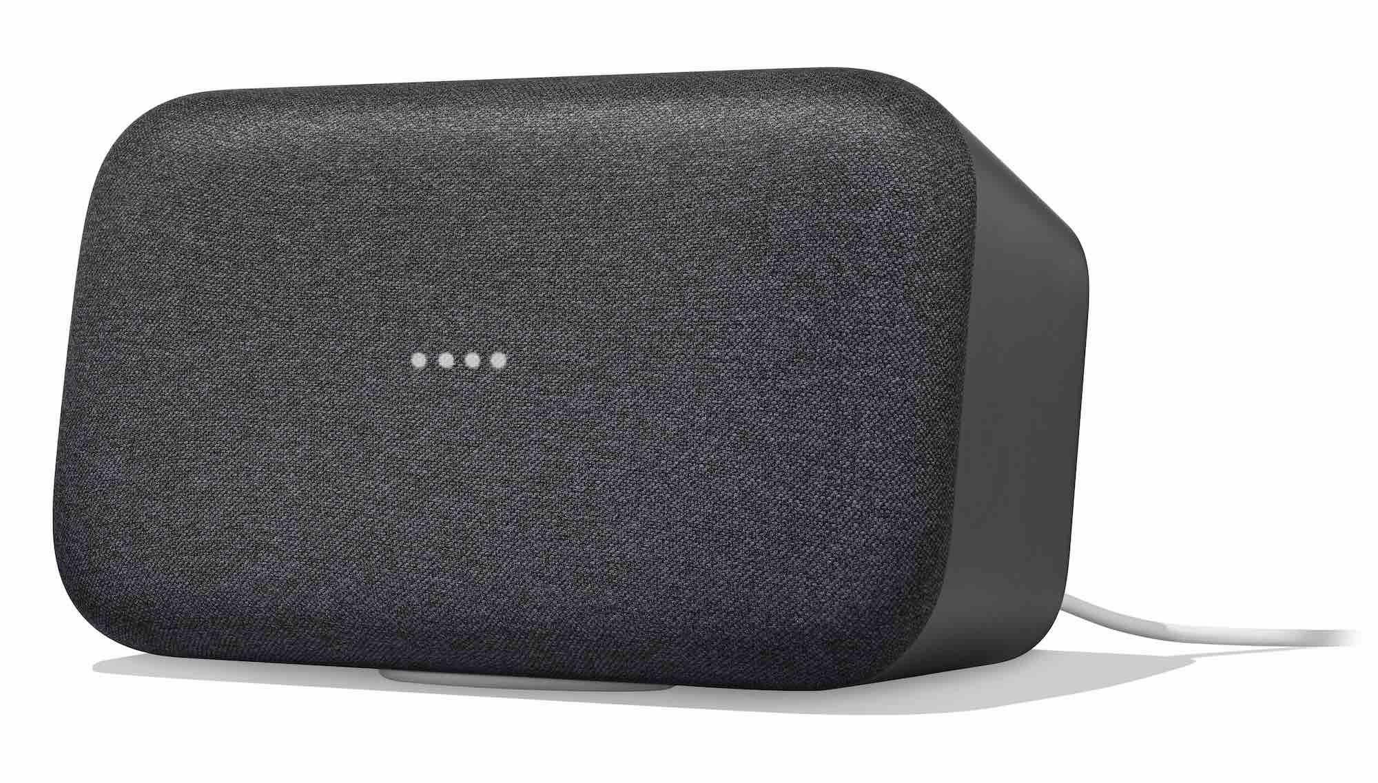 black google home max speaker
