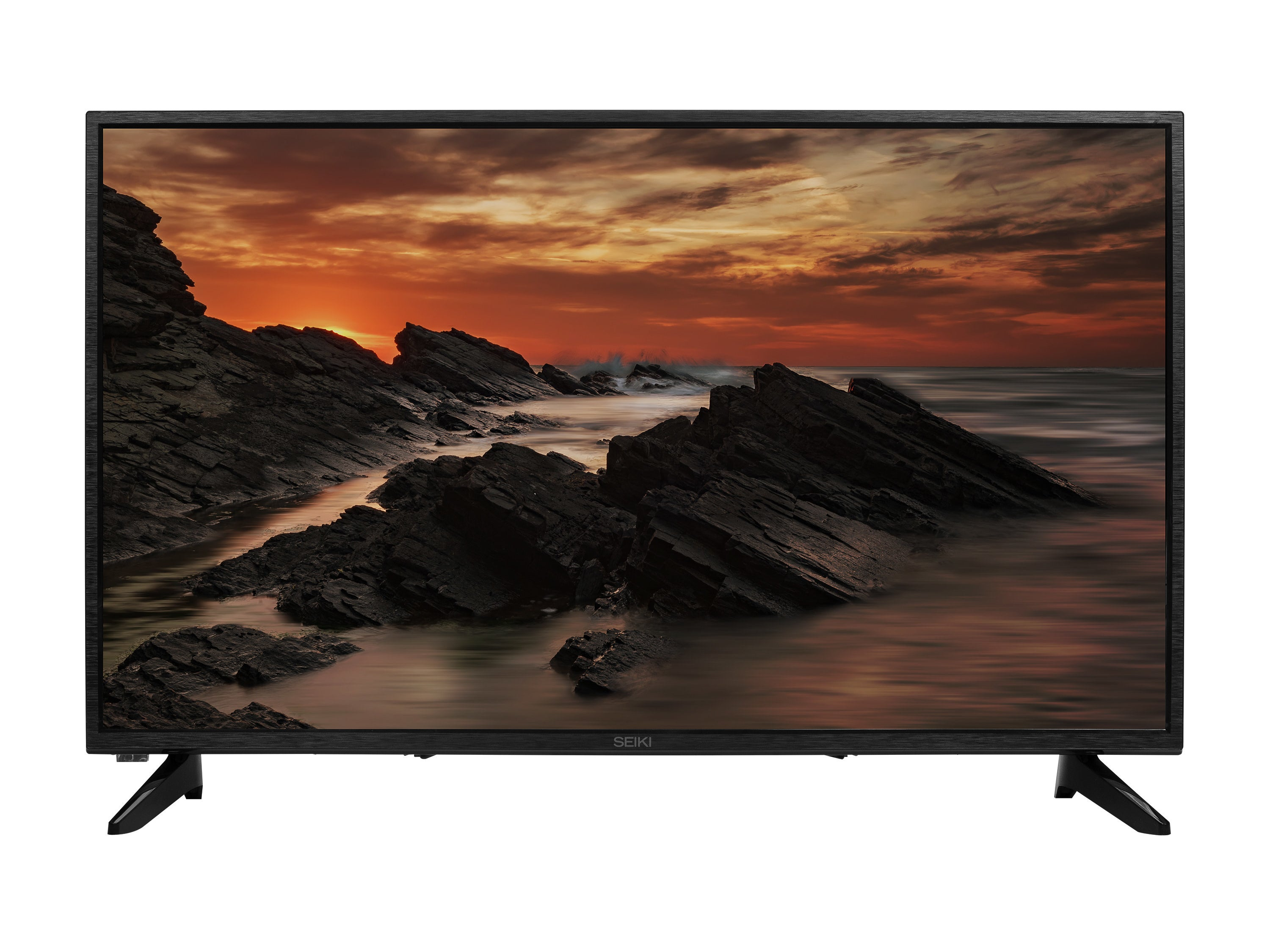 LED television with a nature screen saver