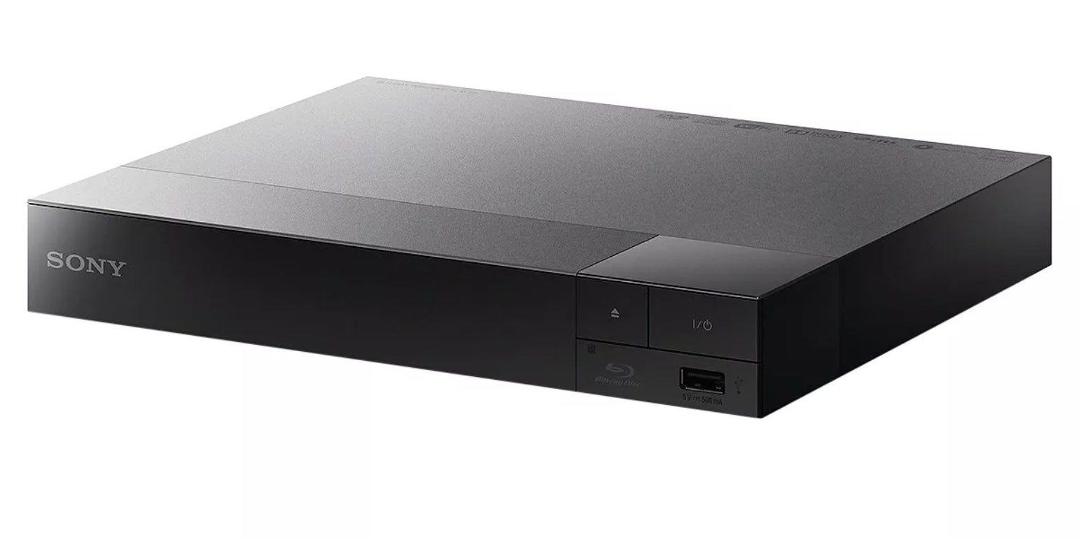 A black Sony Blu-ray Disc Player