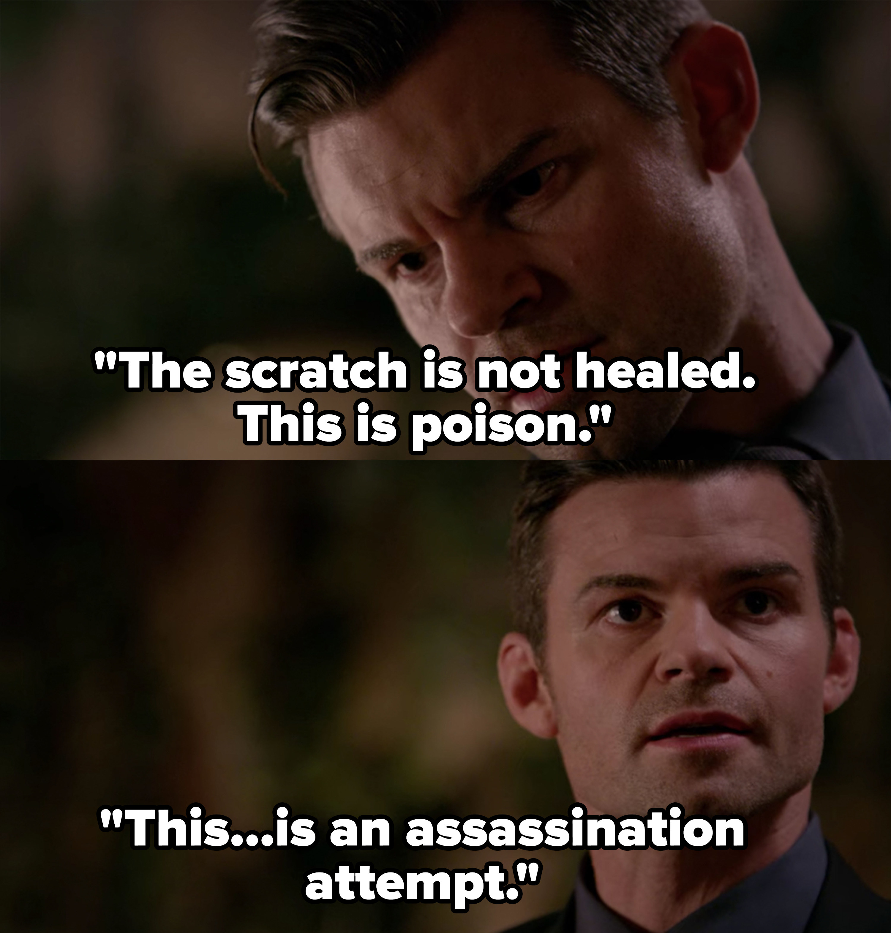 "Elijah: ""This...is an assassination attempt"""
