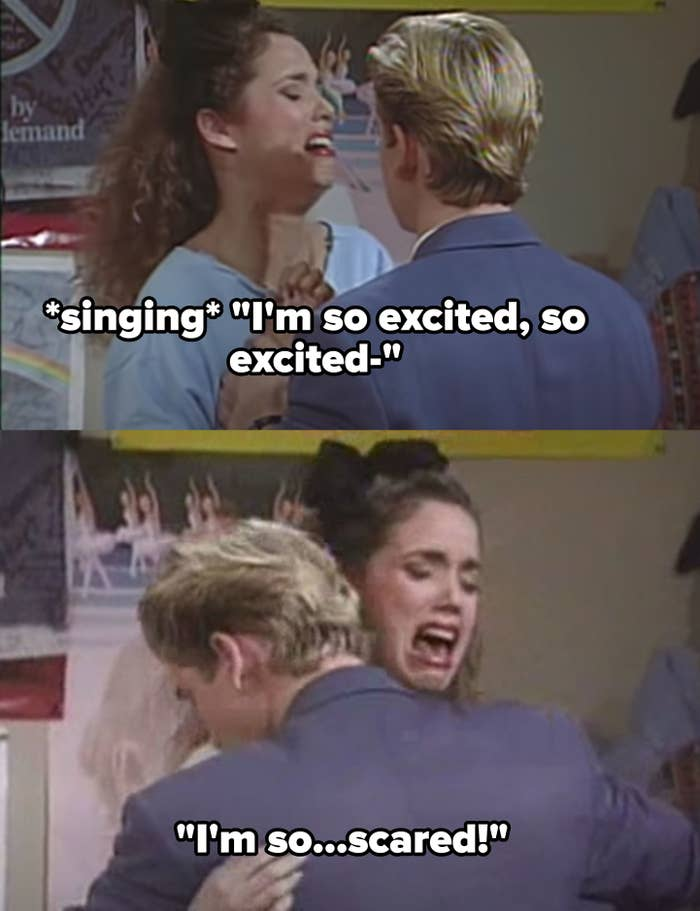 """Jessie freaking out on caffeine pills: """"I'm so excited, I'm so excited, I'm so scared"""""""