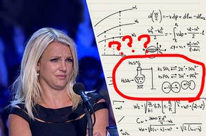Britney Spears visibly confused about science