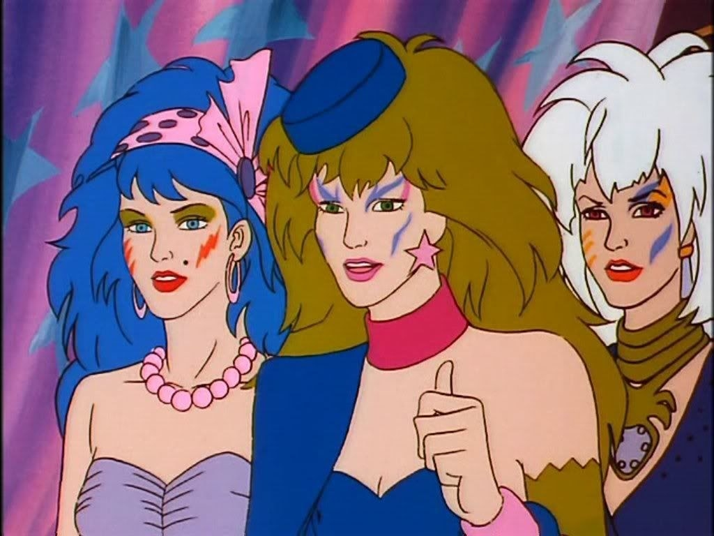 A screenshot of the Misfits from the cartoon