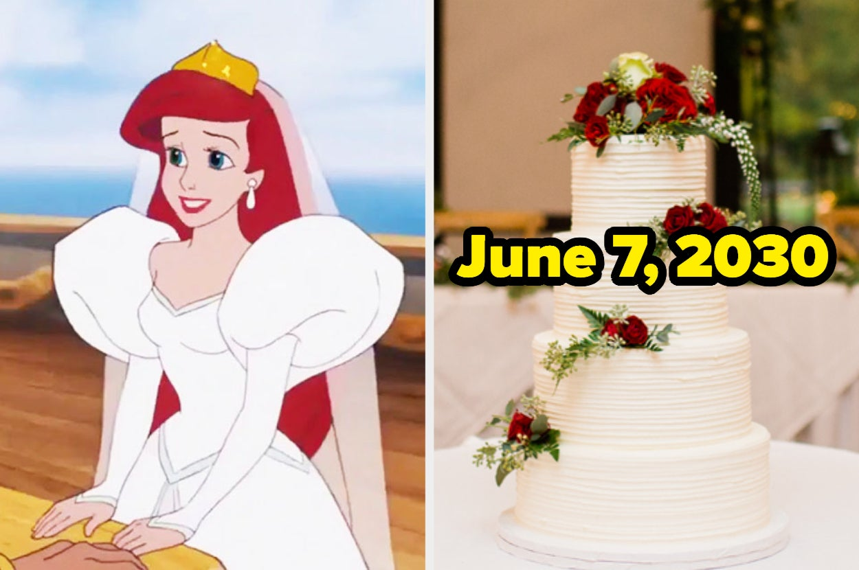 Plan A Wedding For Each Disney Princess And We'll Reveal The Exact Date You'll Get Married