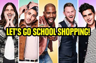 The cast of queer preparing to go school shopping