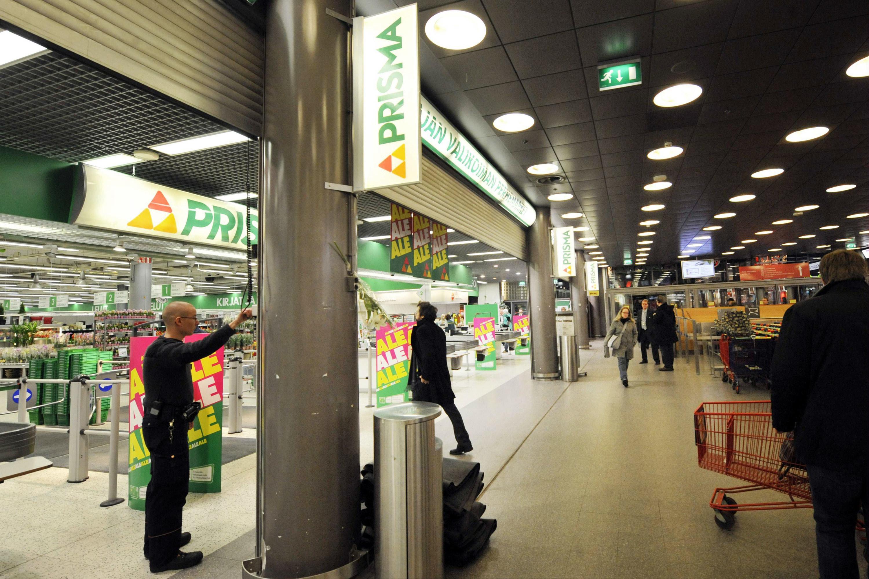 The exterior of an indoor Prisma supermarket