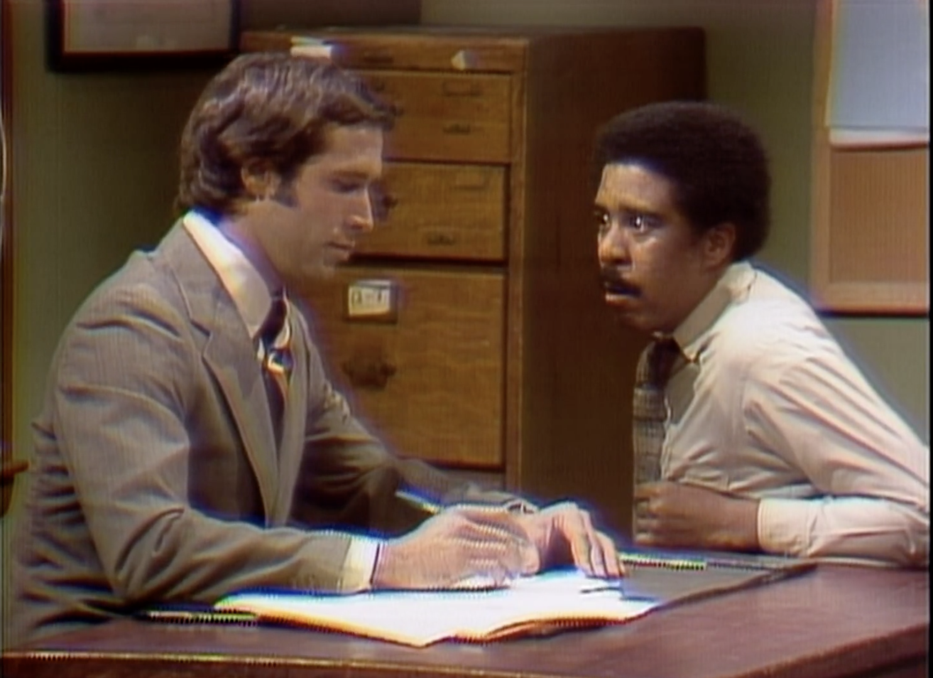 Pryor and Chase in the sketch