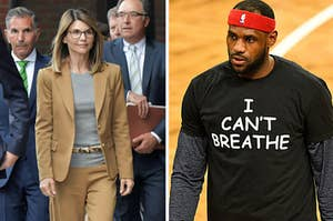 Lebron James calls out Lori Loughlin on Instagram