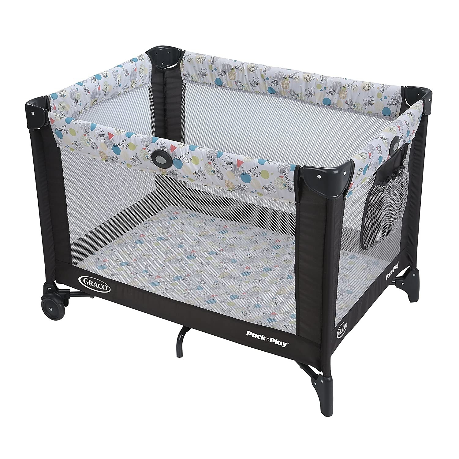 A classic Pack 'n Play playpen and portable crib