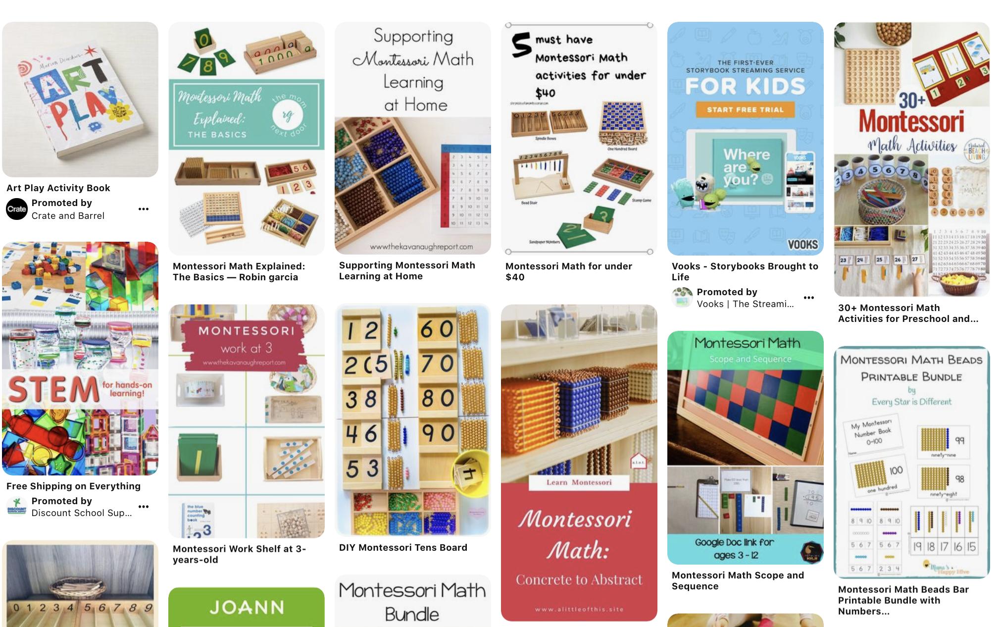 Math worksheets found on Pinterest