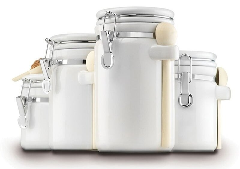 The ceramic canister set