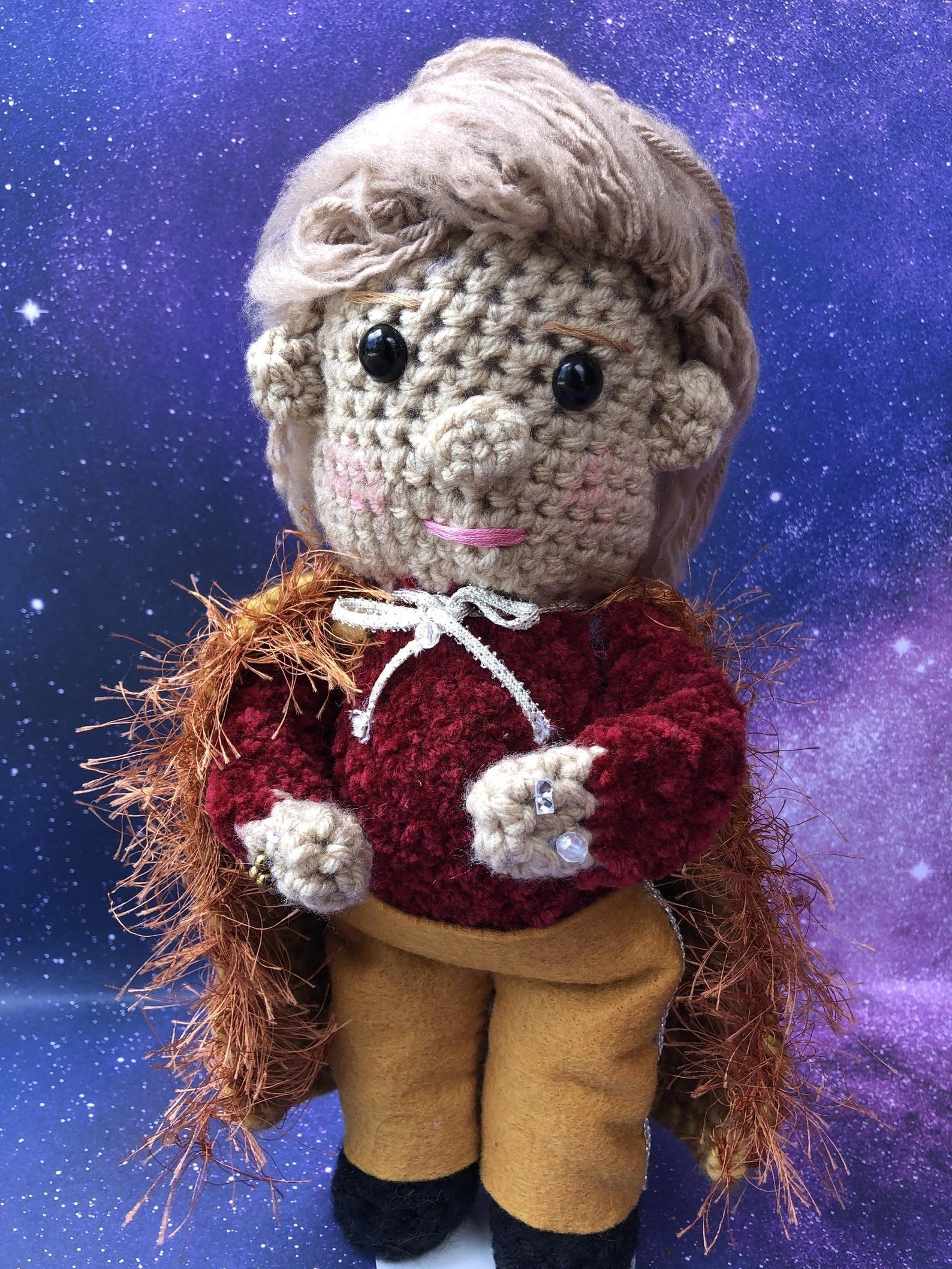 A Walter Mercado doll