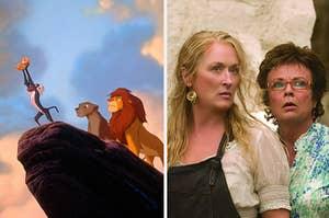 the lion king and mammma mia