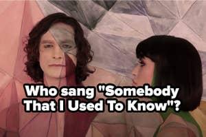 Gotye singing Somebody That I Used To Know