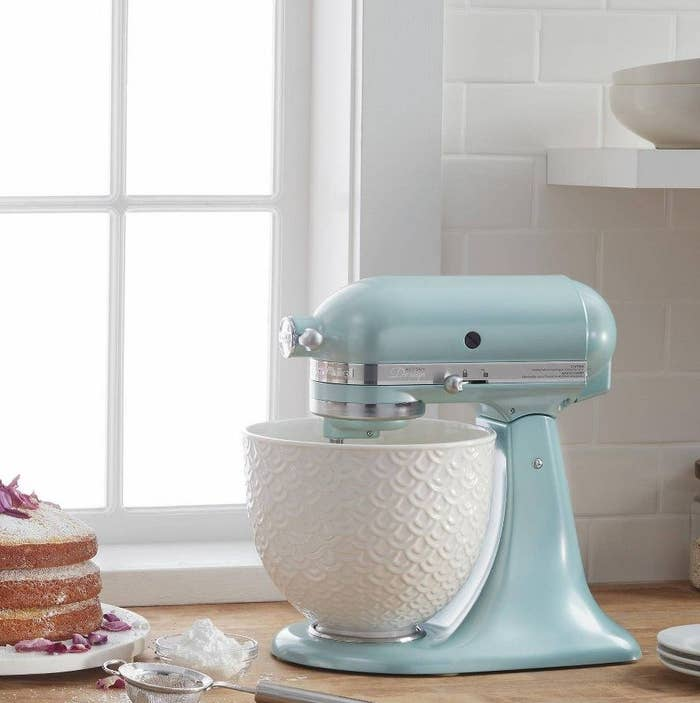 The stand mixer