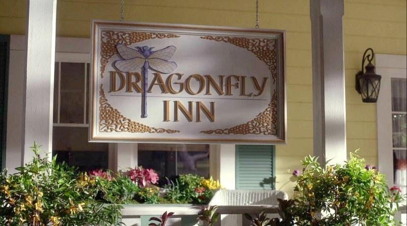 Dragonfly Inn sign from Gilmore Girls