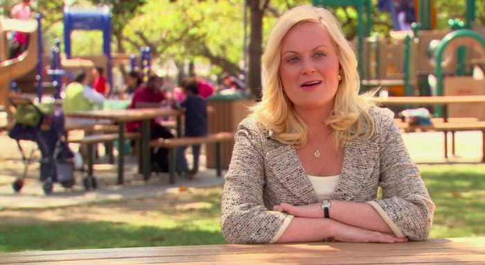 A still of Leslie Knope in Parks and Recreation