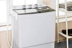 Mini white washer
