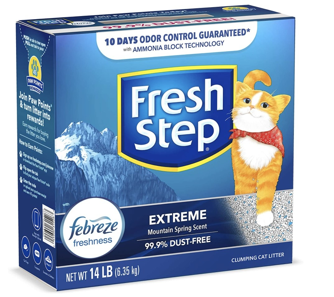 Fresh Step extreme scented litter