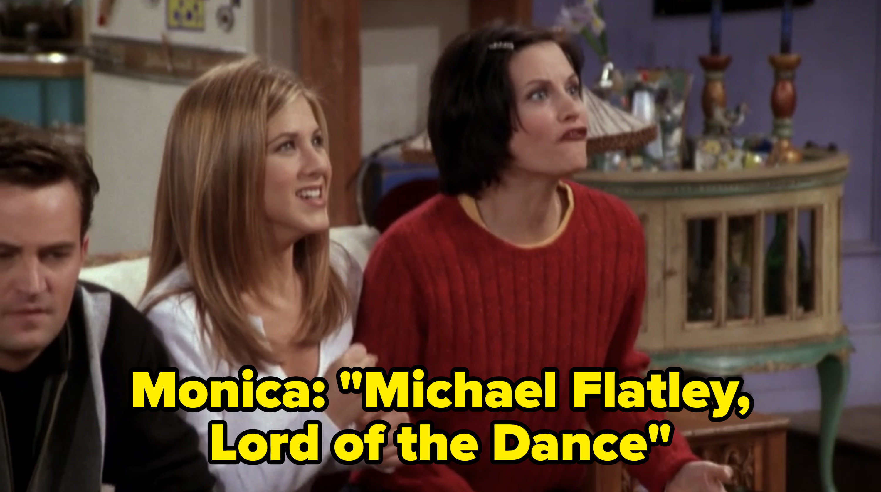 """Monica says: """"Michael Flatley, Lord of the Dance"""""""