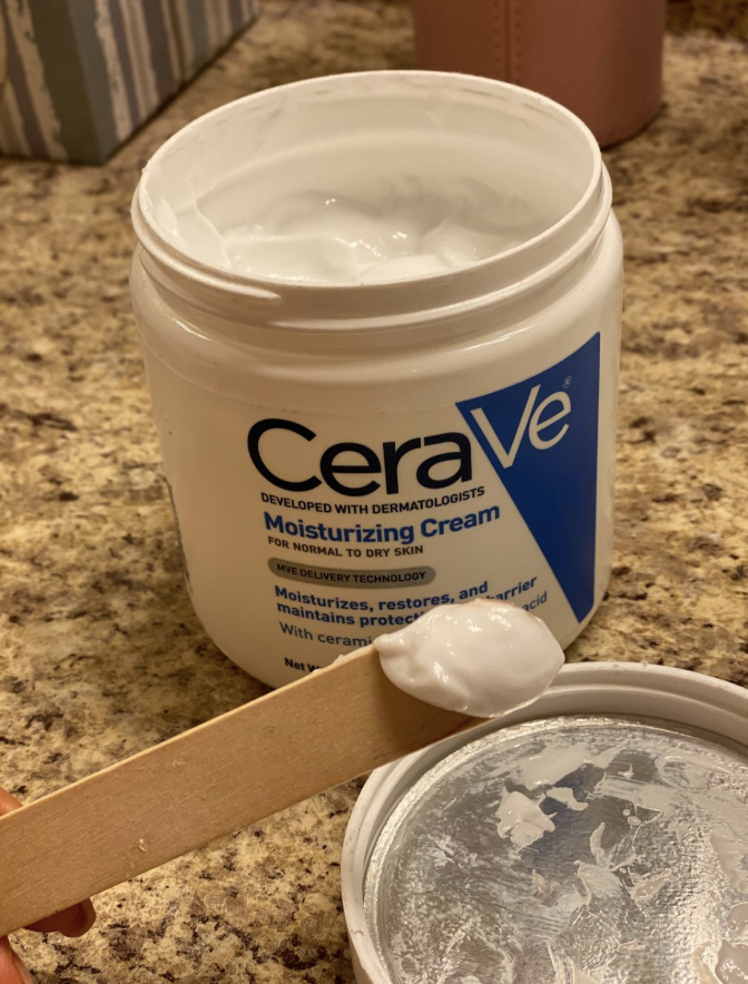 reviewer image of open container of CeraVe