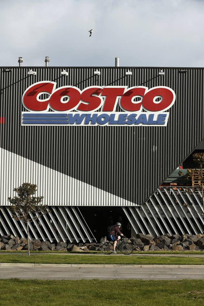 A Costco storefront in Melbourne, Australia.