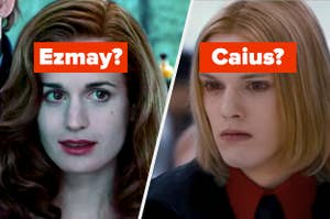 """Edward's adoptive mom labeled """"Ezmay?"""" and a member of the Volturi labeled """"Caius?"""""""