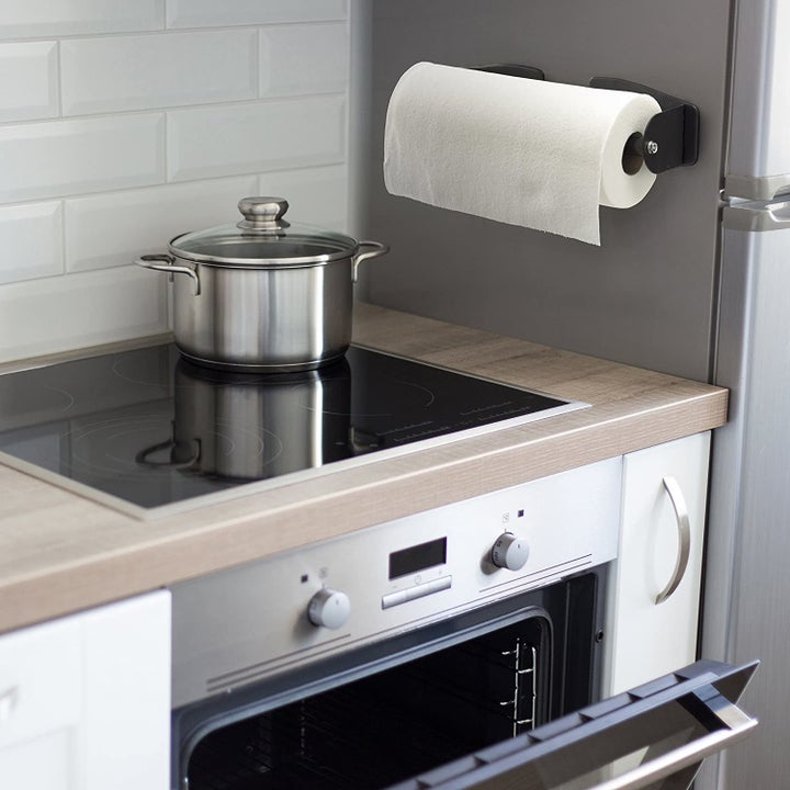 the magnetic holder on the fridge