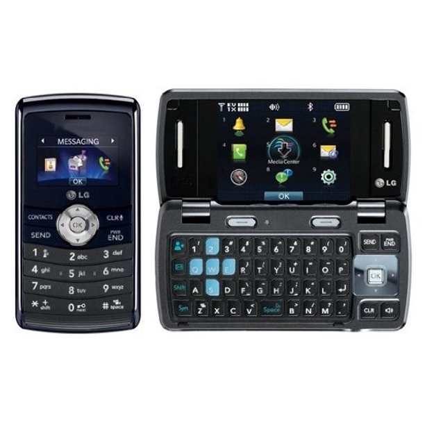 LG EnV3 phone closed and open