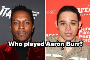 Images of Leslie Odom Jr and Anthony Ramos