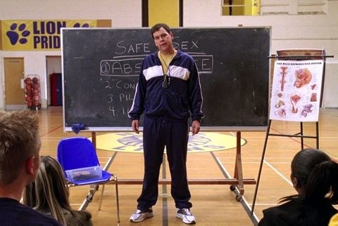"Coach Carr from ""Mean Girl"" the movie"